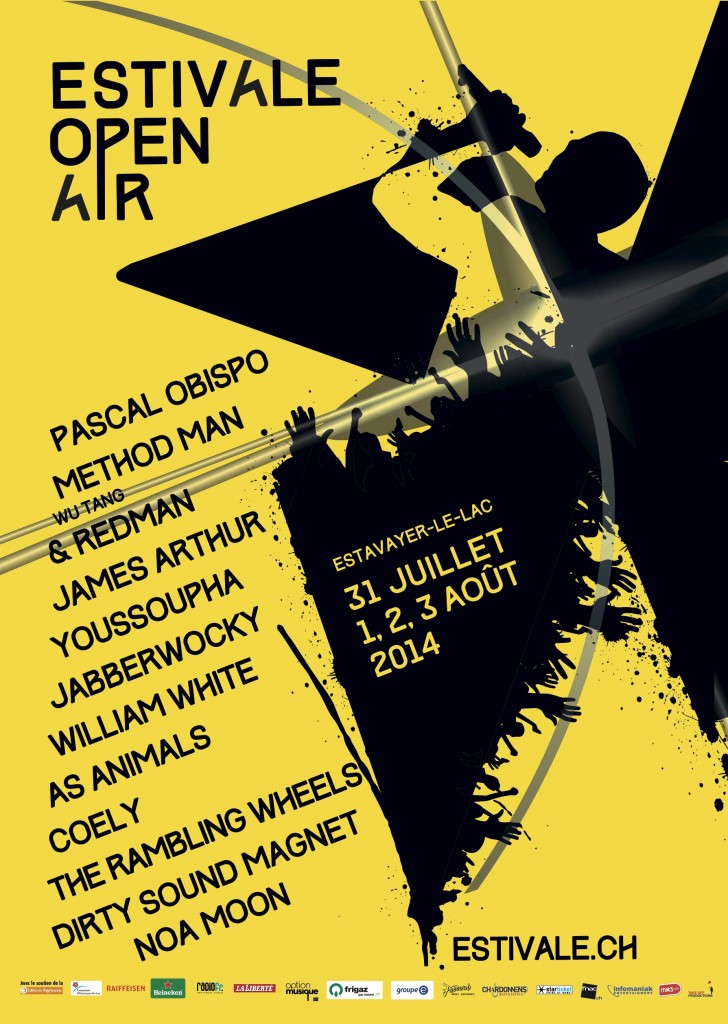 Affiche Estivale Open Air 2014