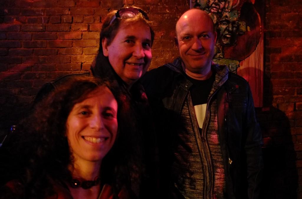 Sandrine (Swiss Consulate NYC), François (SLT) and Thomas (Swiss Consul NYC)... shiny happy poeple