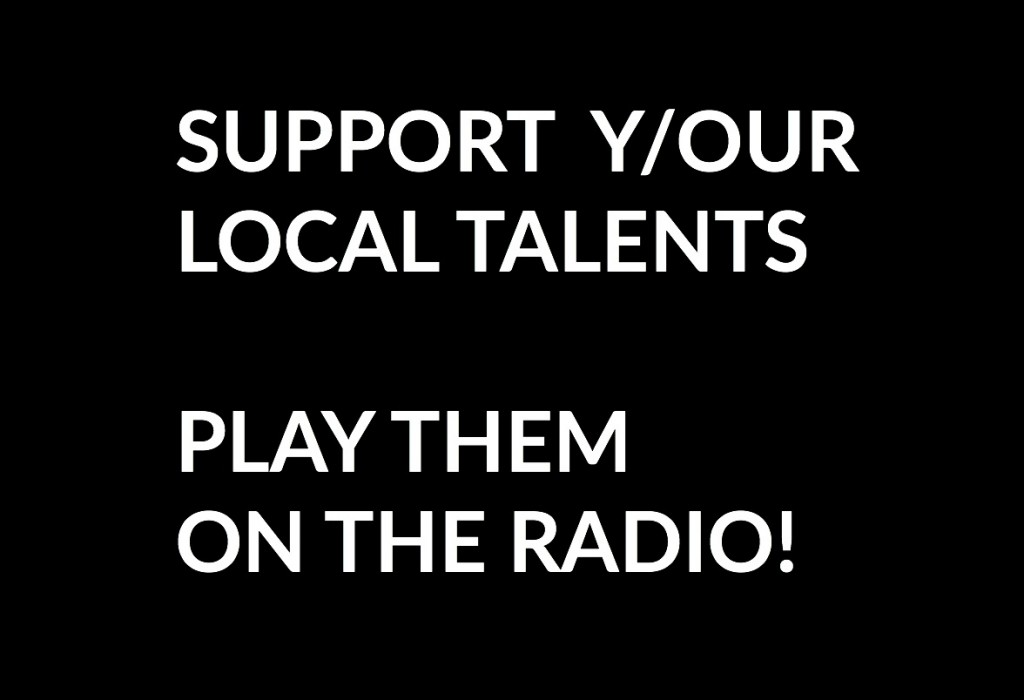 Support Your Local Talents